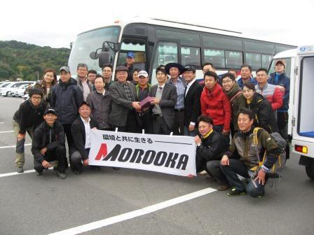 韓国林業機械化協会様の御一行(昨年の様子)