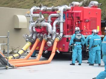 可搬型注水ポンプ車輌(2)