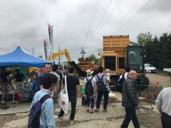 2018 morooka 国際農業機械展in帯広(3)
