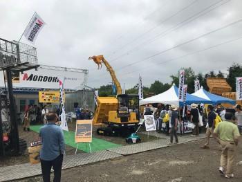 2018 morooka 国際農業機械展in帯広(6)